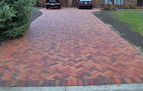Herring bone Brick Pattern