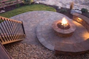 flagstone patio and fireplace-resized