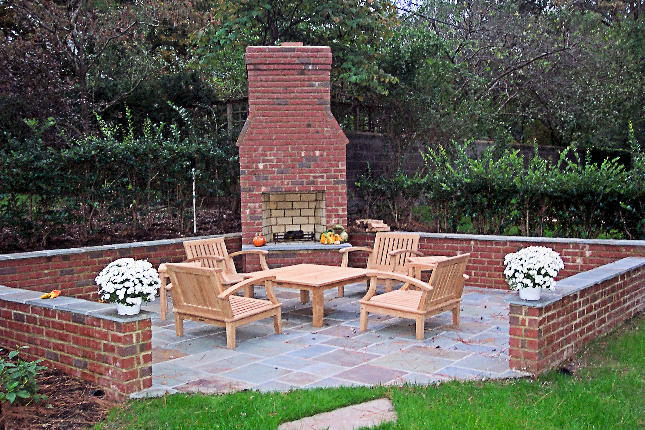 pics photos masonry outdoor fireplace plans for patio